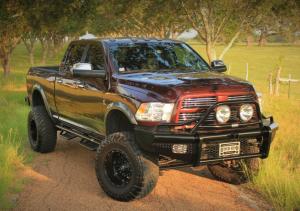 Ranch Hand Bumpers - Dodge RAM 2500/3500 2010-2016 - Ranch Hand - Ranch Hand BTD101BLR Legend Front Bumper Bullnose Dodge 2500/3500 2010-2017