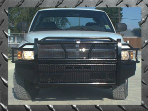Frontier Gear Front Bumper Replacements - Dodge - Frontier Gear - Frontier 300-49-8005 Front Bumper Dodge RAM 2500/3500 1996-2001