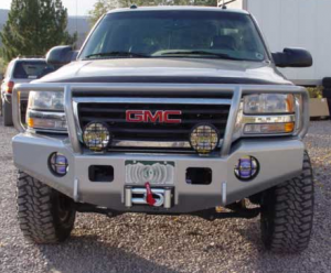 Truck Bumpers - Trail Ready - Chevy Silverado 1500 1999-2002