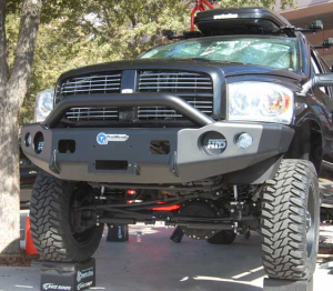 T on 2001 Dodge 2500 Custom Front Bumpers