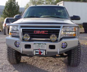 Truck Bumpers - Trail Ready - GMC Sierra 1500 1999-2002