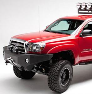 Toyota Tacoma Bumper - Toyota Tacoma 2012-2015 - Body Armor - Body Armor TC-19336 Front Winch Bumper Toyota Tacoma 2012-2015