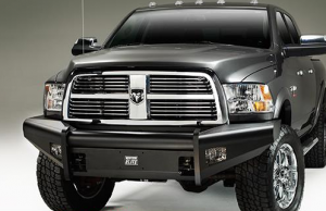 Truck Bumpers - Fab Fours Black Steel ELITE - Dodge RAM 1500 2009-2012