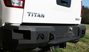 Fab Fours Premium - Rear Bumpers - Nissan