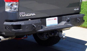 Fab Fours Premium - Rear Bumpers - Toyota