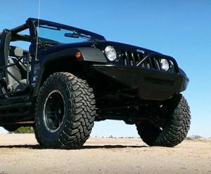 Truck Bumpers - LEX Bumpers - Jeep Wrangler JK Bumper