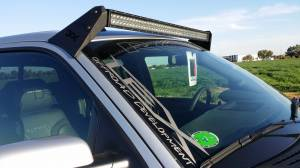 "Truck Bumpers - LEX - LEX Single 50"" Light Mount Ford Raptor 2010-2014"