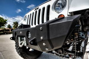 Truck Bumpers - VPR 4x4 - VPR 4x4 VPR-126-S-S Front Bumper Ultima Short Jeep JK 2007-2015